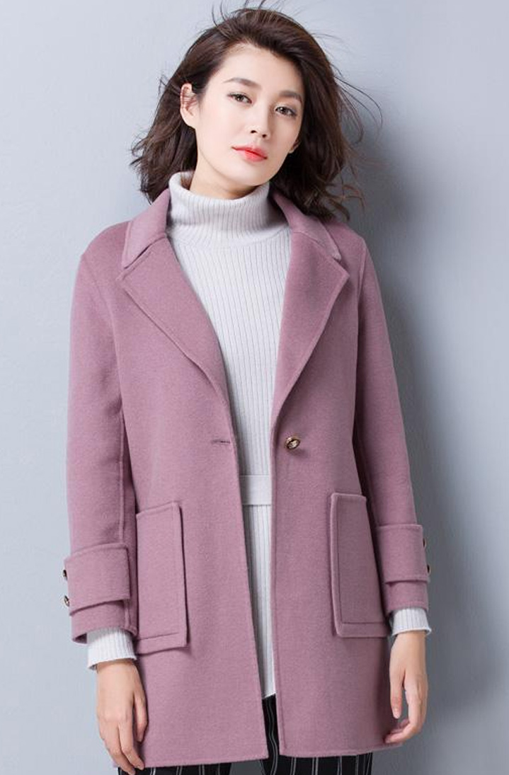双面呢大衣Double Side Woolen Coat